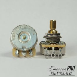 emerson pro cts 500k 8 tolerance audio taper split shaft potentiometer 262x262 - Emerson Custom CTS 500K EJE SOLIDO