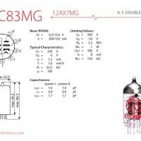 jj ecc83 mg 12ax7 mg 2 542 p 200x200 - 12AX7 / ECC83 MG JJ
