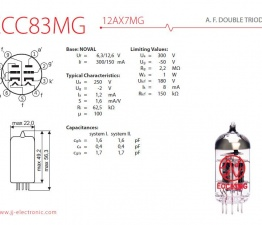 jj ecc83 mg 12ax7 mg 2 542 p 262x225 - 12AX7 / ECC83 MG JJ