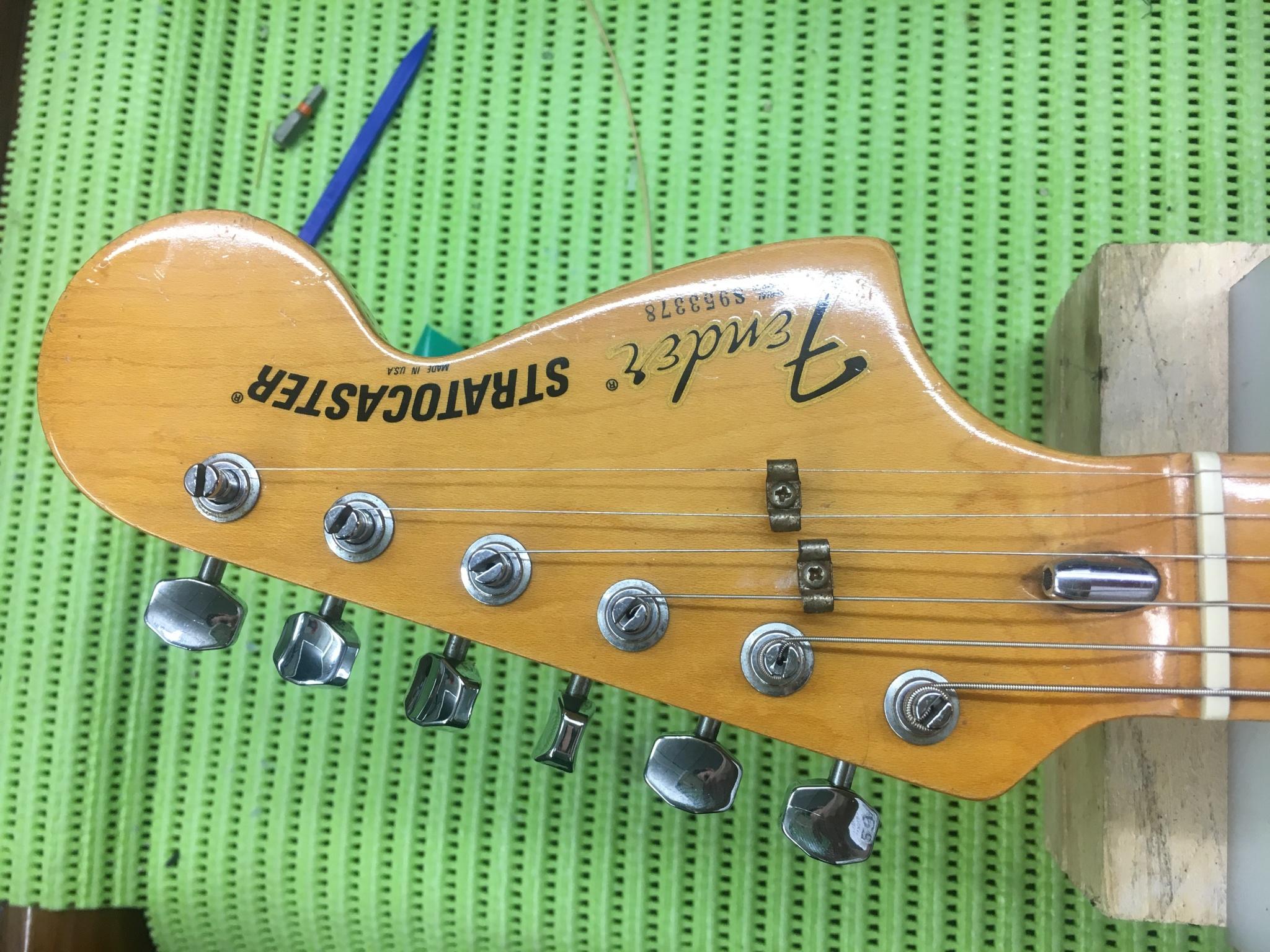 IMG 5518 - Nivelado y pulido de trastes Fender American Stratocaster del 79