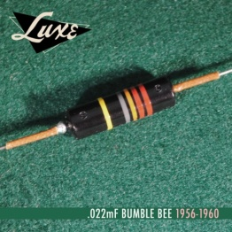 1956 1960 single oil filled 022mf bumble bee capacitor p13047 14365 medium 262x262 - Condensador - Bumble Bee Capacitor 0,022uf Papel en aceite