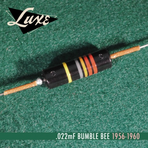 1956 1960 single oil filled 022mf bumble bee capacitor p13047 14365 medium - Condensador - Bumble Bee Capacitor 0,022uf Papel en aceite