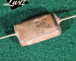 luxe radio 1952 1958 stratocaster precision bass pio capacitors 01uf 1mfd 262x210 - Condensador LUXE RADIO - Phone Book Papel en aceite  0.1uF Condensador Stratocaster&PrecisionBass
