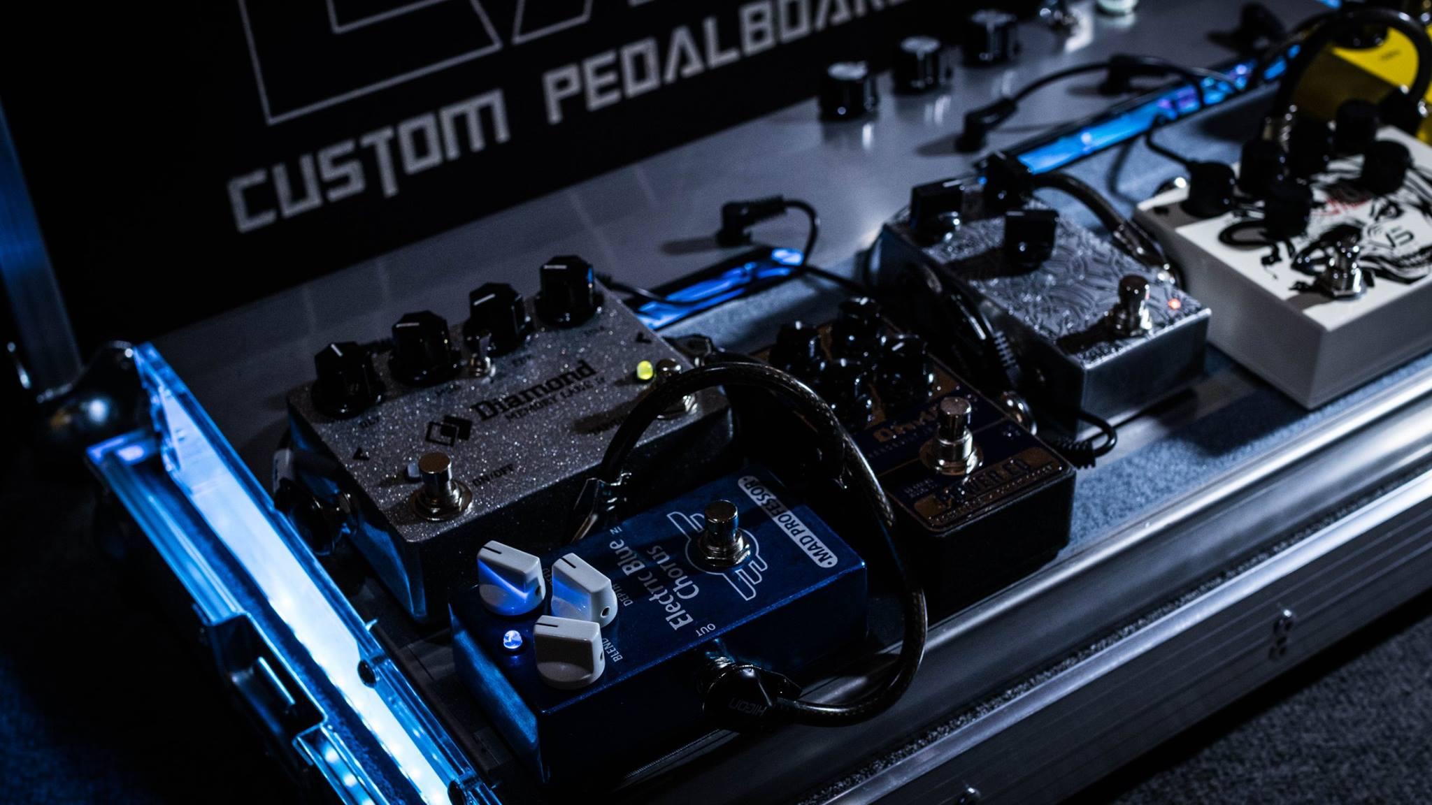 pedalboar2 - LAJ CUSTOM PEDALBOARD (PARA 6 PEDALES)