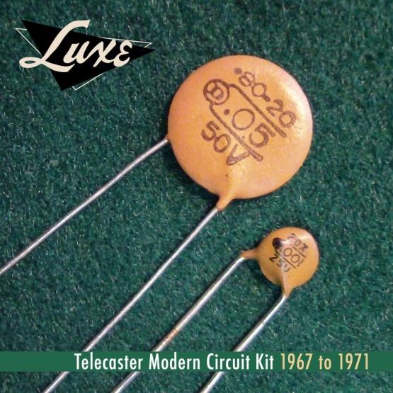 TM67 1024x1024 555x555 - Condensadores LUXE RADIO 1967-1971 Telecaster Modern Schematic Kit .05mF y .001mF
