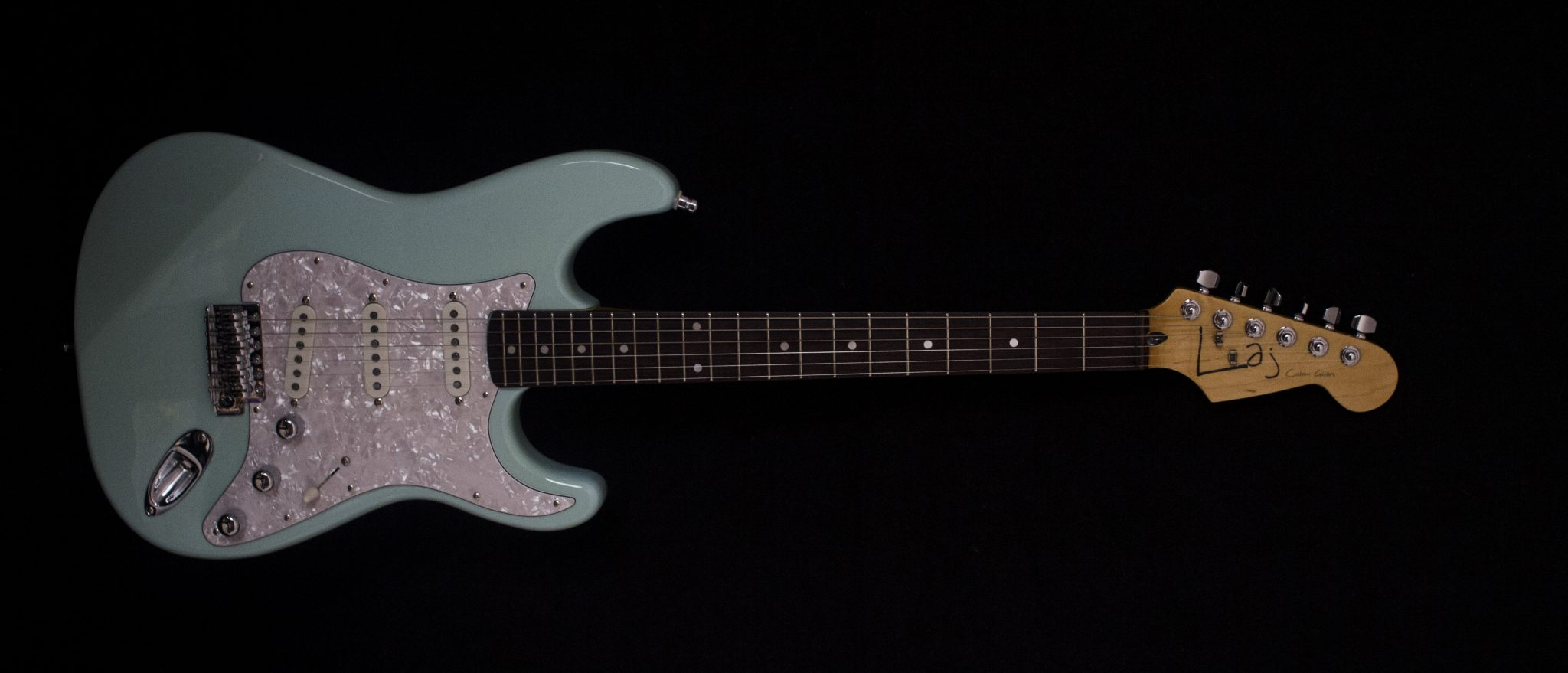 IMG 1849 - Laj Custom Guitars Strat Blue