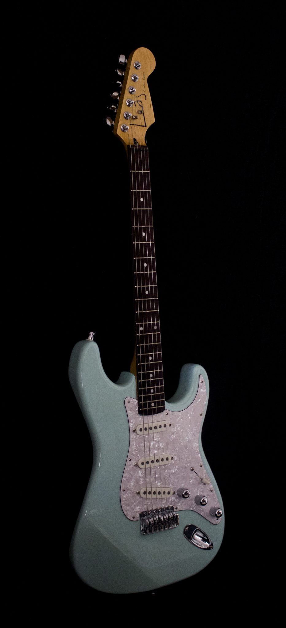 IMG 1850 - Laj Custom Guitars Strat Blue
