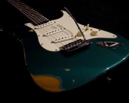 LAJ Strat Green Relic