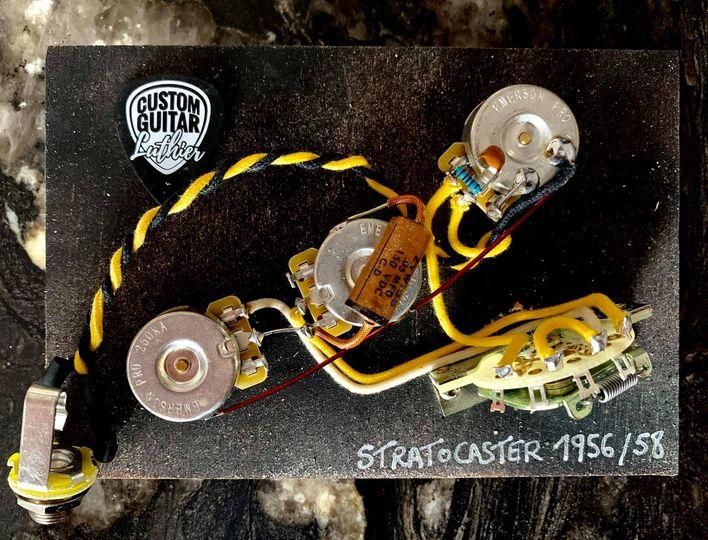 159709293 3946936508730514 6124582363512340474 n - KIT MEJORA ELECTRONICA STRATOCASTER NOS ( Luxe Radio ) 1957